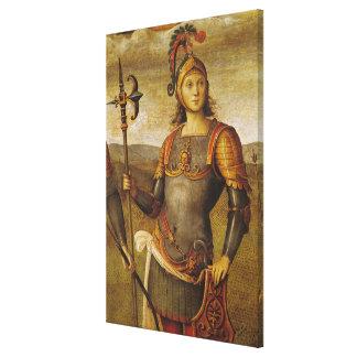 Horatius Cocles, del dell'Udienza de Sala Impresión En Lona Estirada