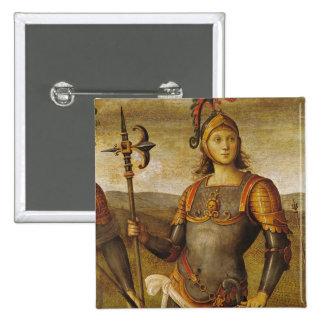 Horatius Cocles, del dell'Udienza de Sala Pin Cuadrada 5 Cm
