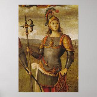 Horatius Cocles, del dell'Udienza de Sala Póster
