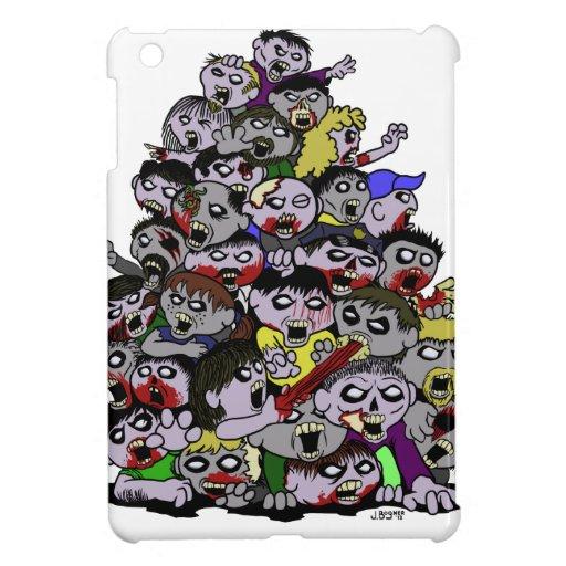 Horda del zombi iPad mini carcasa