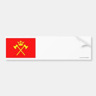 Hordaland flag bumper sticker
