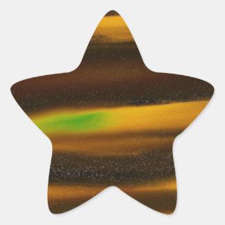 Horde of Golden Comets Star Sticker