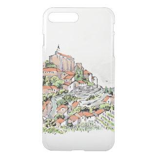Hordes iPhone X/8/7 Plus Clear Case