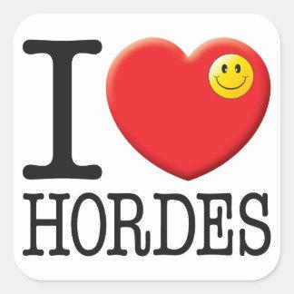Hordes Love Stickers
