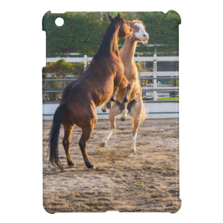 Horese in a playful mood cover for the iPad mini