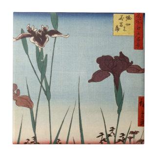Horikiri Iris Garden (堀切の花菖蒲) Tile