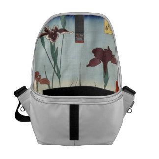 Horikiri Iris Garden. Messenger Bag
