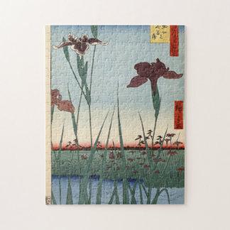 Horikiri Iris Garden. Puzzle
