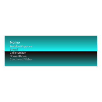 Horizon Double-Sided Mini Business Cards (Pack Of 20)