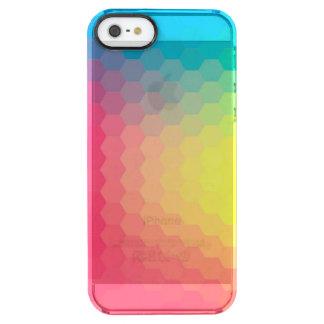 Horizon Comb Clear iPhone SE/5/5s Case
