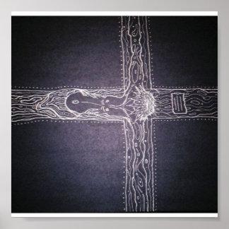 horizon-cross by Jubal Poster