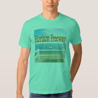 Horizon Freeway Sea Scapes T-Shirt