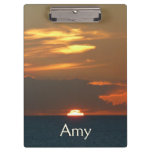 Horizon Sunset Clipboard