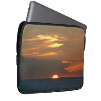 Horizon Sunset Colorful Seascape Photography Laptop Computer Sleeves