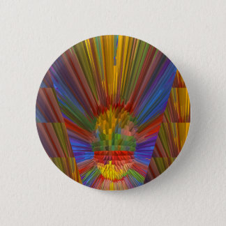 Horizon Sunset Golden Sparkles DIY Gifts COLORFUL Pinback Button