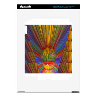 Horizon Sunset Golden Sparkles DIY Gifts COLORFUL Skins For iPad 3