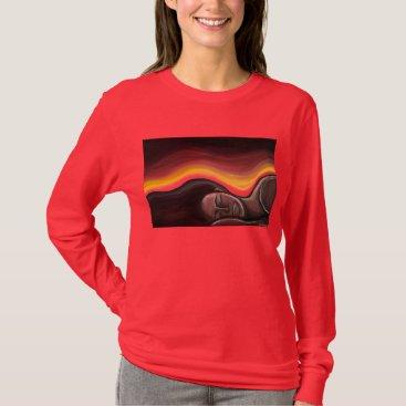 McTiffany Tiffany Aqua Horizon T-Shirt
