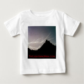Horizonal Lightning man Poster Baby T-Shirt