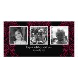 Horizontal 3-photo card