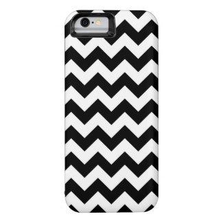 Horizontal Black and White Zigzag iPhone 6 Case