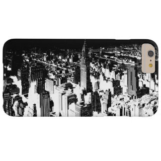 Horizontal Black White New York iPhone 6 Plus Case