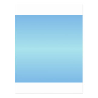 Horizontal Blue1 - Blizzard Blue and Aero Gradient Postcard