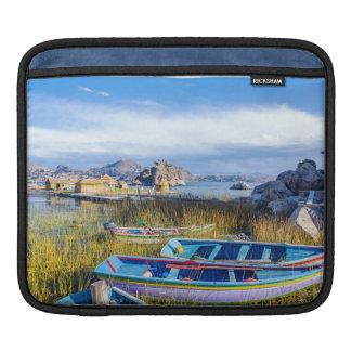 Horizontal cover iPad DAP, Lago Titicaca, Bolivia Sleeves For iPads