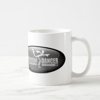 horizontal dancer glossy logo mug