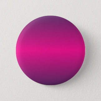 Horizontal Deep Pink and Imperial Gradient Pinback Button