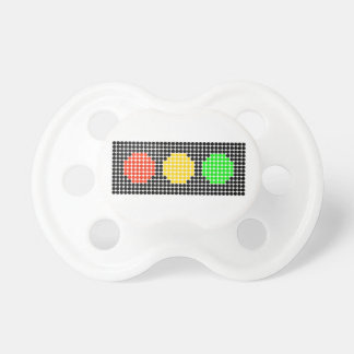 Horizontal Dot Stoplight Pacifier