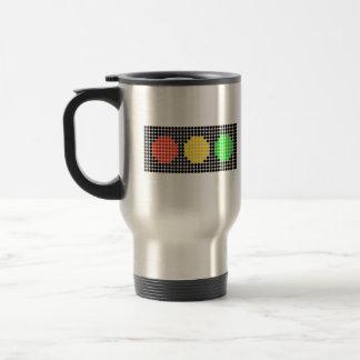 Horizontal Dot Stoplight Travel Mug