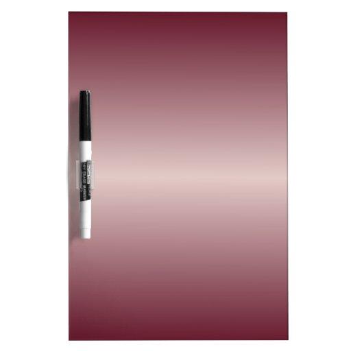 Horizontal Dust Storm and Dark Scarlet Gradient Dry Erase Board