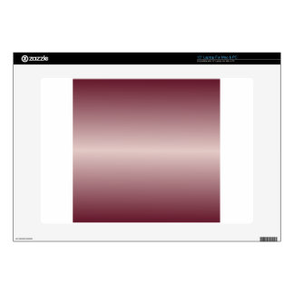 "Horizontal Dust Storm and Dark Scarlet Gradient 15"" Laptop Decal"