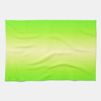 Horizontal Electric Yellow and Electric Green Kitchen Towels