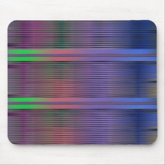 Horizontal graphic lines mouse pad