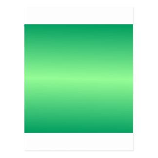 Horizontal Green 1 - Mint Green and Shamrock Green Postcard