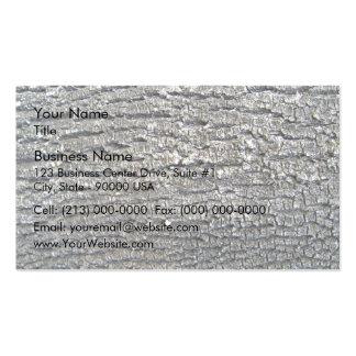 Horizontal Grunge Bark Business Card