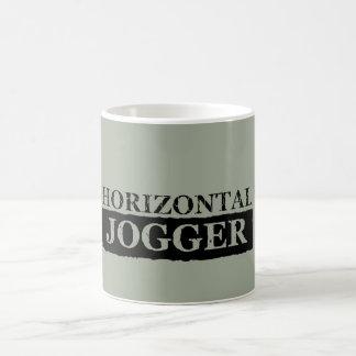 HORIZONTAL JOGGER COFFEE MUG