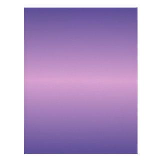 Horizontal Light Medium Orchid and Dark Slate Blue Letterhead Template