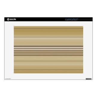 "Horizontal Lines TPD 15"" Laptop Decals"