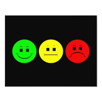 Horizontal Moody Stoplight Lefty Green Card