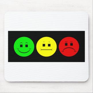Horizontal Moody Stoplight Lefty Green Mouse Pad