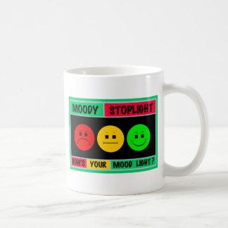 Horizontal Moody Stoplight Logo Classic White Coffee Mug