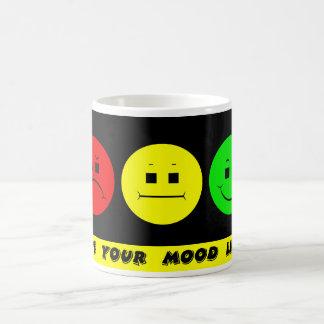 Horizontal Moody Stoplight Mood Light Coffee Mug