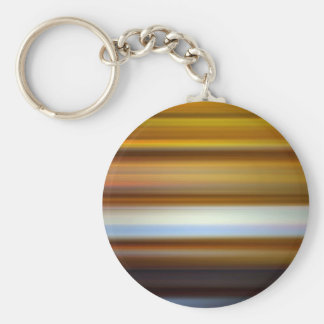 Horizontal Moving Lines Basic Round Button Keychain