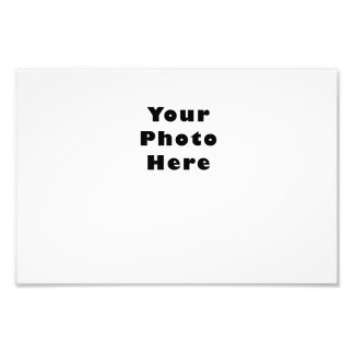 Horizontal Photo Print