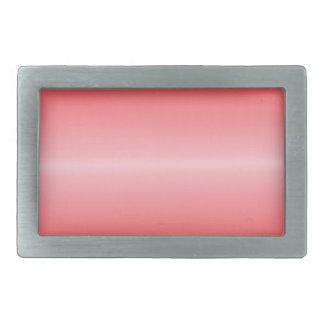 Horizontal Pink and Red Gradient Rectangular Belt Buckles