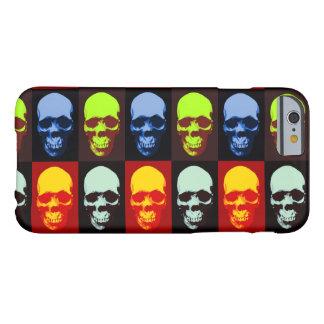 Horizontal Pop Art Skull iPhone 6 Case