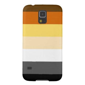 HORIZONTAL RAYADO del ORGULLO del OSO - 2014 Funda De Galaxy S5