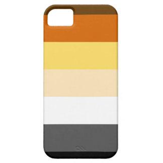 HORIZONTAL RAYADO del ORGULLO del OSO - 2014 iPhone 5 Case-Mate Coberturas
